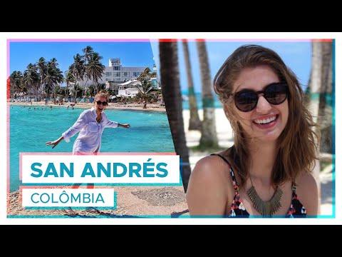 Minha viagem pra San Andrés, Colômbia!   VLOG