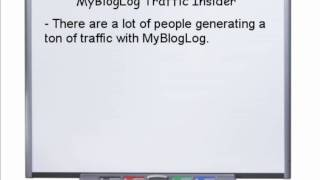 "How To Get FREE Targeted Traffic? ""MyBlogLOg Traffic Formula"""