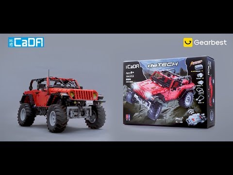 CADA C61006 Vehicle RC Block Toy - Gearbest.com