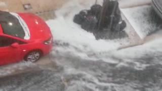 soirées inondations vichy rue de paris.