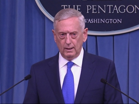 Mattis Outlines New Strategy to Fight IS