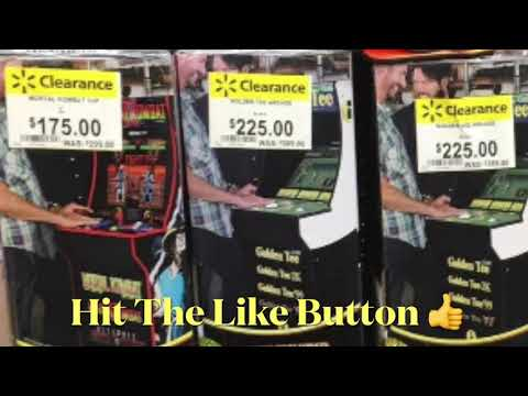 Arcade1Up Cheap At Walmart Marvel Mortal Kombat Arcade 1Up Golden Tee Golf from rarecoolitems
