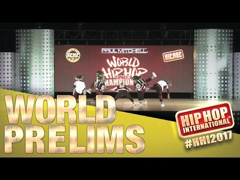 Kryptonite Femme - South Africa (Varsity Division) at HHI2017 Prelims