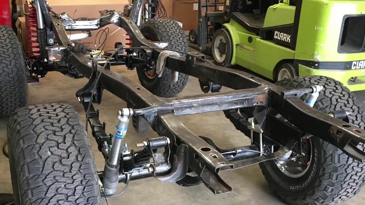 2017 Ford Bronco >> 1969 Ford Bronco Restoration - YouTube