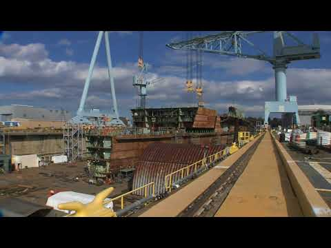 Kennedy Aircraft Carrier 70% Structurally Complete