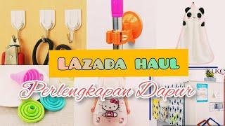 LAZADA HAUL PERLENGKAPAN DAPUR #part1 || UNBOXING Peralatan dapur || Home decor 🌿