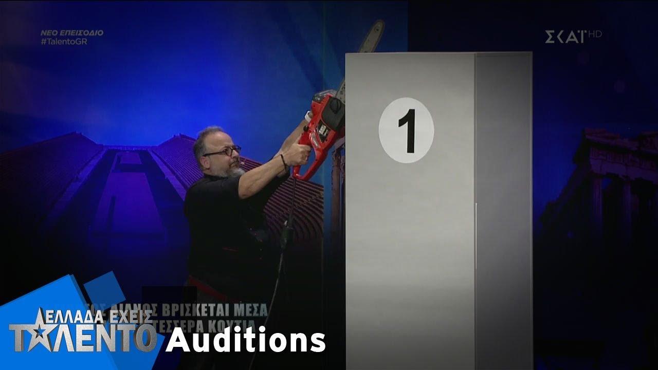 Ελλάδα Έχεις Ταλέντο - Season 2 | Amazing Dio | 12/11/2018