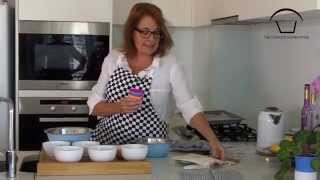 Using Our Silicone Cupcake Liners To To Bake The Best Blueberry Muffin  With Victoria Mackenzie