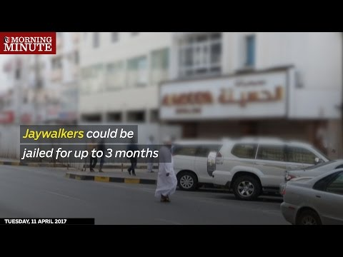 Jaywalkers in Oman could be jailed for up to 3 months