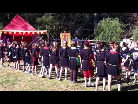Medieval Dance - Blue Oak Charter School, 7th Grade, May 2012