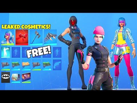 *NEW* Skins & FREE Rewards LEAKED..! (Renegade Shadow, Noir Skins, Spy) Fortnite Battle Royale