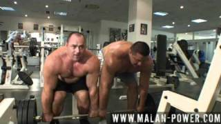 Malanichev Andrey and Koklyaev Misha, russian giant training