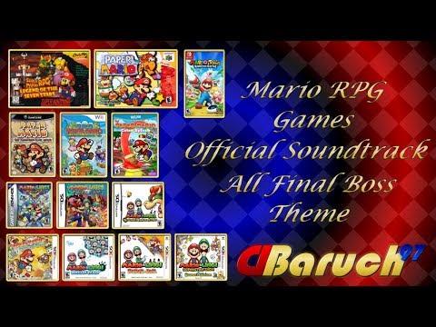 Mario RPG Games OST All Final Battle Theme (1996 2017)
