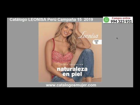 Catálogo LEONISA PERU 15 -2019 ¿Quieres COMPRAR O VENDER? Whatsapp 994323931 -www.catalogosmujer.com
