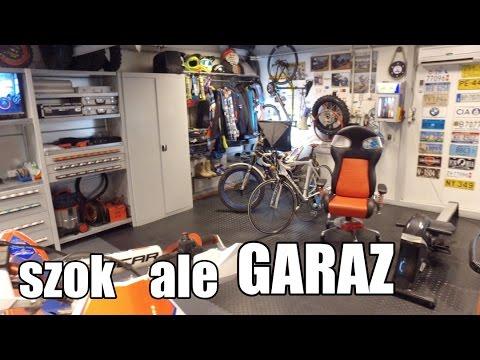 Szok Ale Garaż Mój Garage 42 What A Garage Shock Youtube