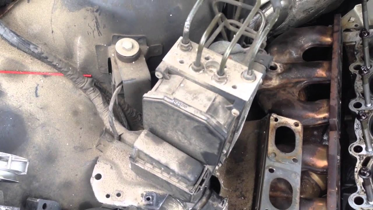 hight resolution of how to diagnose a bad bmw e38 e39 abs light anti lock brake module pump problems