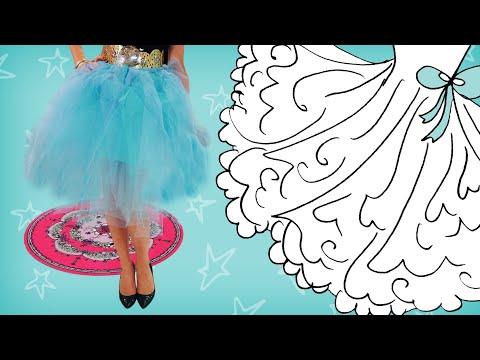 Jill - DIY: Maak een ballerina-rokje van tule!
