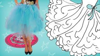 Kijk Maak ballerina jurkje filmpje