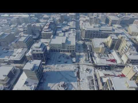 Aerial view Karditsa City (final video) 10/01/2017