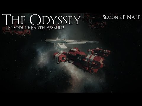 Space Engineers: The Odyssey: Season 2: Episode 10: Earth Assault!