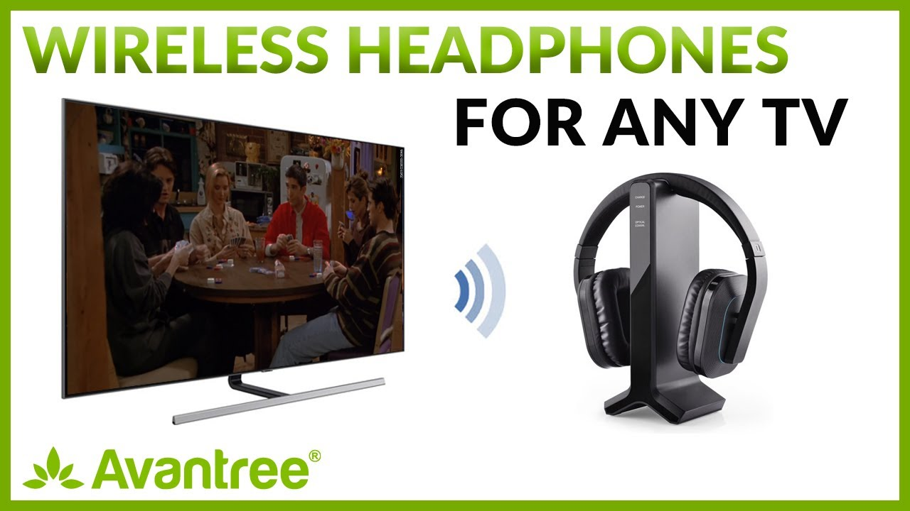 2867ee965a9 Wireless Headphone System For TV - YouTube