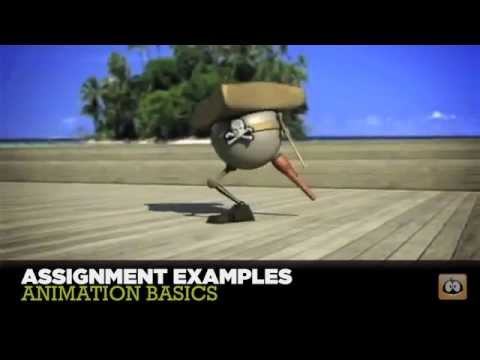 Animation Program Class 1 Examples at Animation Mentor