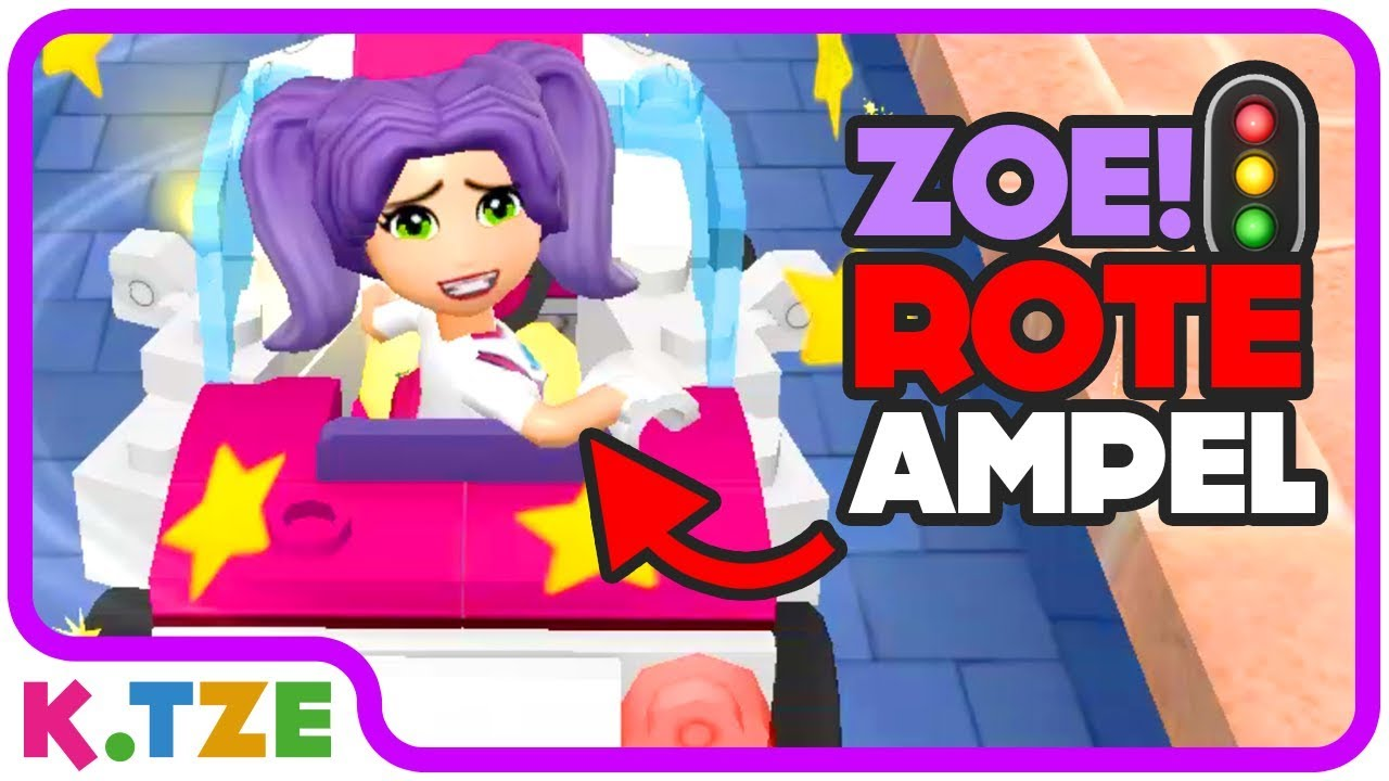 Zoe Die Ampel Ist Rot Lego Friends Heartlake Rush Youtube