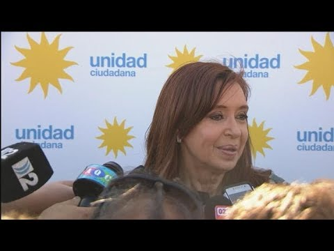 En diálogo con periodistas en Mar del Plata, Cristina Kirchner criticó a los empresarios de IDEA