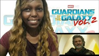 Guardians of the Galaxy Vol  2 Trailer WORLD PREMIERE REACTION Video!