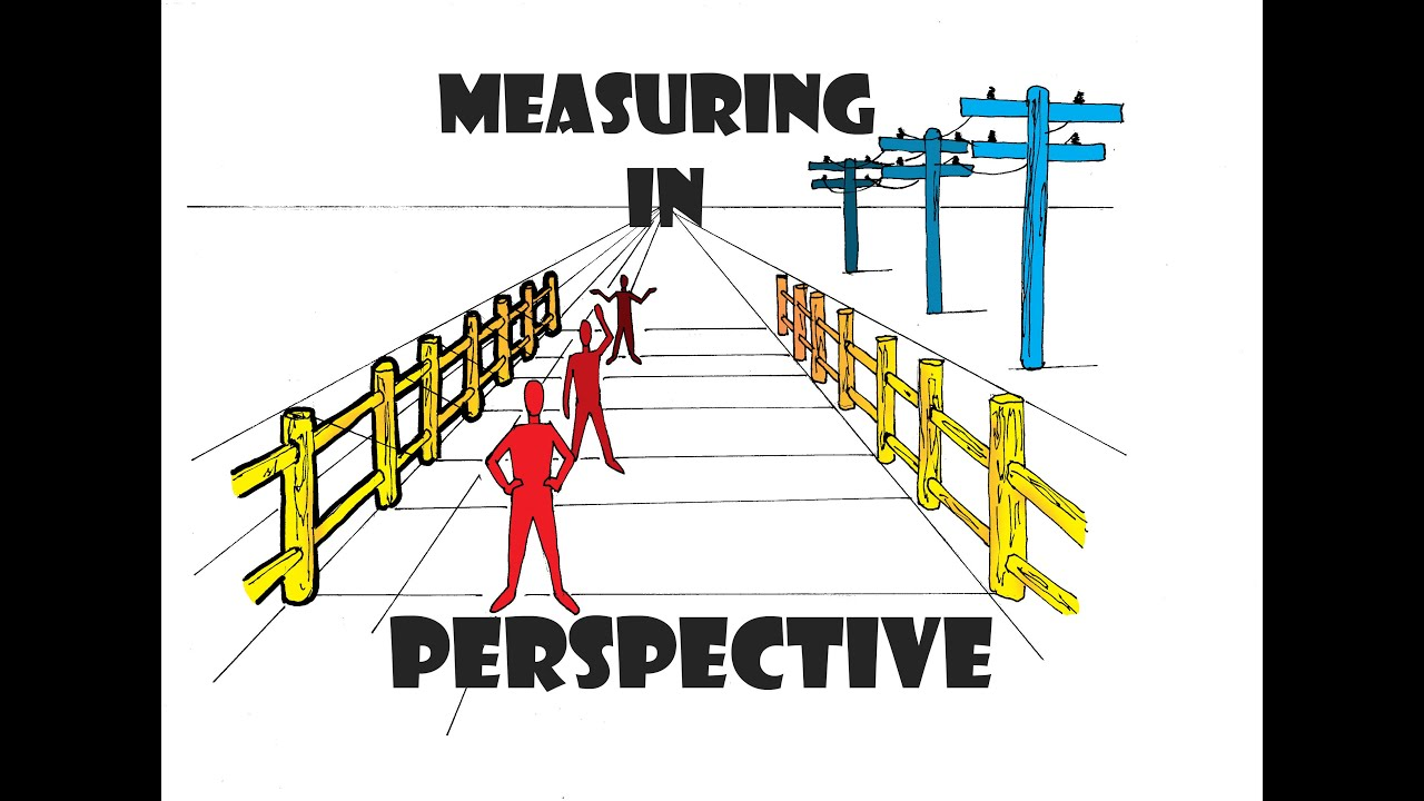 Drawing in Perspective ( How to Measure in Perspective ...