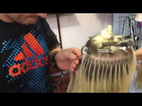 Капсульное наращивание волос, как наращивают волосы, волосы на кератиновых капсулах
