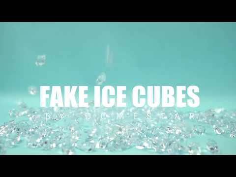 Working with Fake Ice Cubes - Decoration & Photography