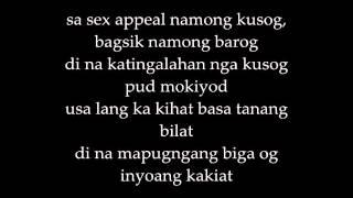 Bisan NoPetsAllowed Lyrics on screen