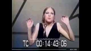 Bette Midler   Ten Cents a Dance Mike Douglas Show 1971