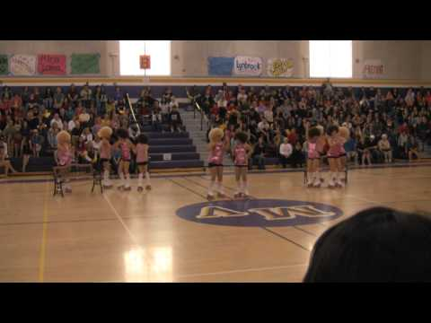 Character Routine - Cupertino HS Dance Team - Feb. 6, 2010