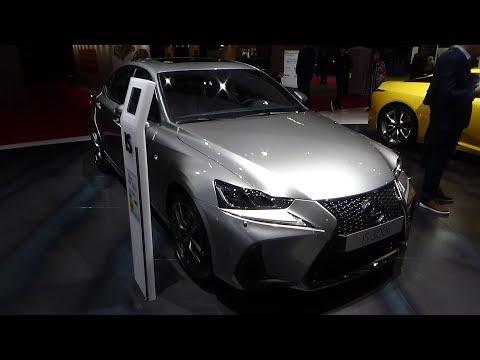 2019 Lexus IS 300h F Sport Executive - Exterior and Interior - Paris Auto Show 2018