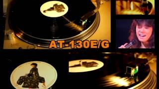 12インチ45回転EPの「中森明菜/赤い鳥逃げた」を SL-1200(mk1)とAT-10G...