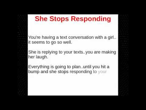 What to do when a girl doesn t text back