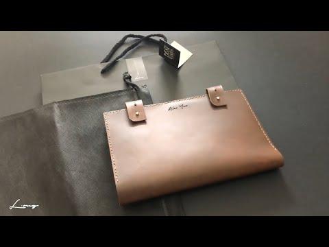 Handmade with love - Leather Organiser