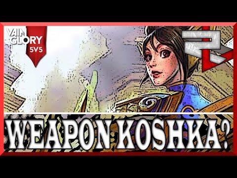 4.0 Vainglory 5v5 Ranked: What?!?!?! Weapon Power Koshka Hurts?!