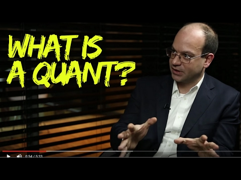 What Is A Quant?