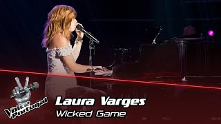 """Laura Varges  - """"Wicked Game""""   Prova Cega   The Voice Portugal"""