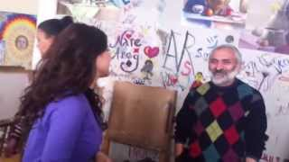 Hasmik and Harout with Mr. Martirosyan (yafa 2011)