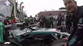 EXCLUSIVE: Inside Mercedes' Celebrations After Lewis Hamilton's Title Win
