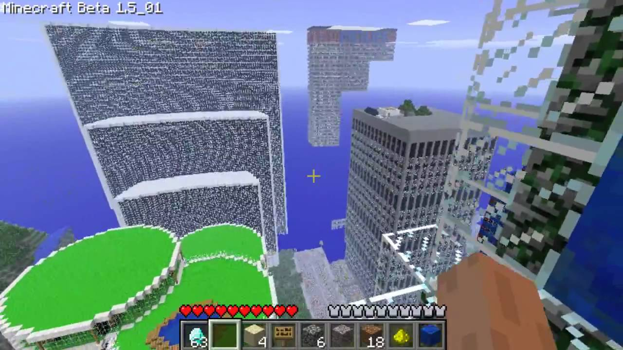 Lets Show Minecraft  New York YouTube - New york map in minecraft