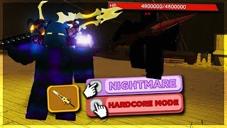 How To Defeat Pirate Invasion Dungeon *SOLO* Nightmare Hardcore | Roblox: Dungeon Quest (Update) thumbnail