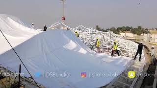 National Stadium Roof Installation
