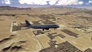 Aerofly FS 2 - KLAX to KLAS - Airbus 320 - 4K 60Hz