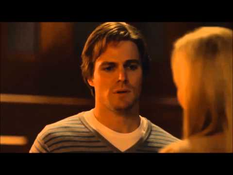 Stephen Amell on final scene with Susanna Thompson