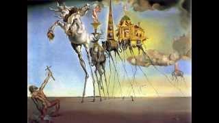 Salvador Dali   La tentation de Saint Antoine